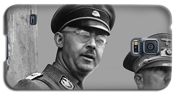 Adolf Hitler And Gestapo Head Heinrich Himmler Watching Parade Of Nazi Stormtroopers 1940-2015 Galaxy S5 Case