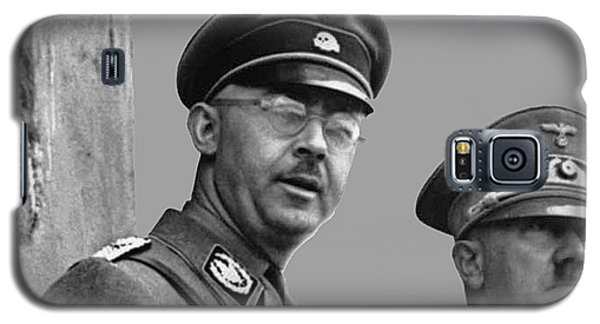 Adolf Hitler And Gestapo Head Heinrich Himmler Watching Parade Of Nazi Stormtroopers 1940-2015 Galaxy S5 Case by David Lee Guss