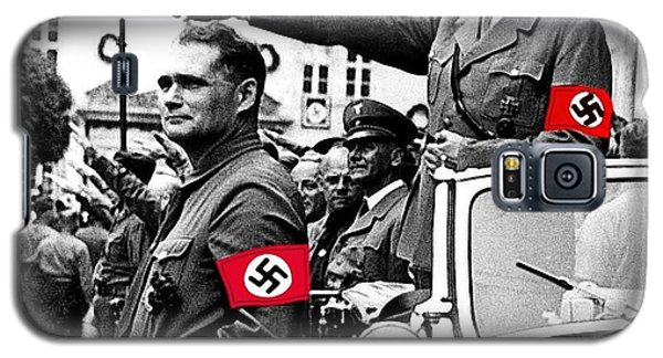 Adolf Hitler Giving The Nazi Salute From A Mercedes #3 C. 1934-2015 Galaxy S5 Case