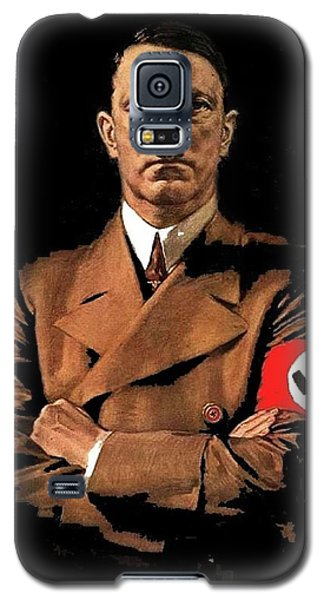 Adolf Hitler Painting Circa  1940 Color Added 2016 Galaxy S5 Case