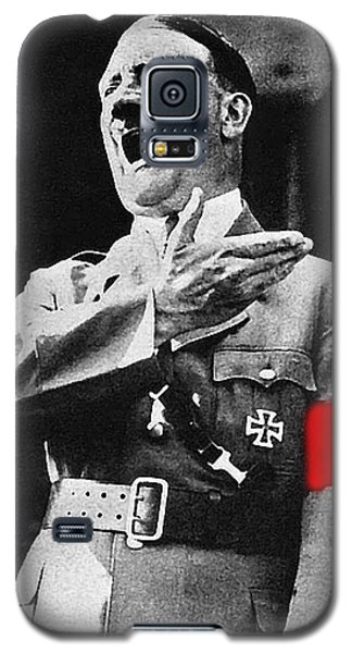 Adolf Hitler Ranting 1  Galaxy S5 Case by David Lee Guss