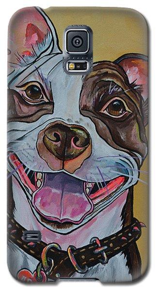 Adopt A Pit Bull Galaxy S5 Case by Patti Schermerhorn
