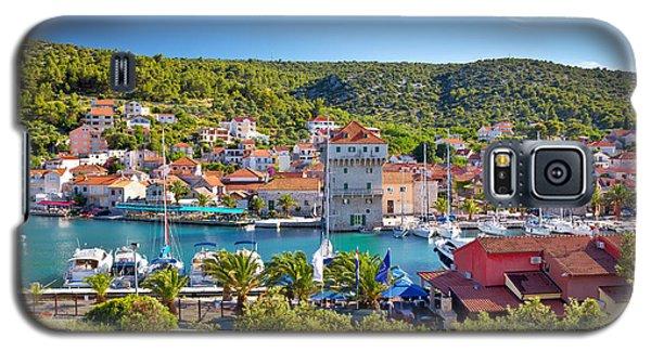 Adriatic Village Of Marina Near Trogir Galaxy S5 Case
