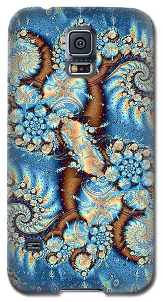 Galaxy S5 Case featuring the digital art Adrift by Richard Ortolano