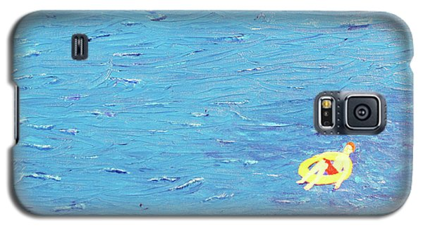 Galaxy S5 Case featuring the painting Adrift by Thomas Blood