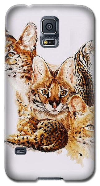 Galaxy S5 Case featuring the drawing Adroit by Barbara Keith