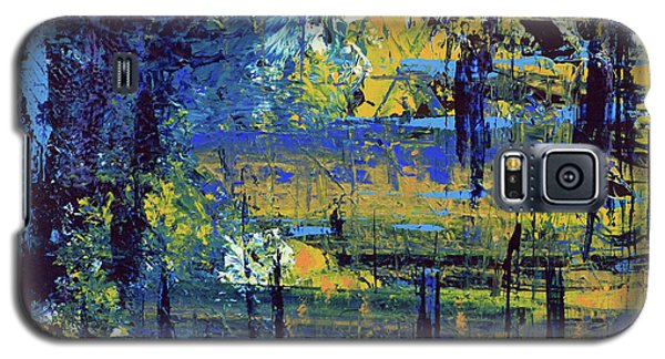 Galaxy S5 Case featuring the painting Adventure  by Cathy Beharriell