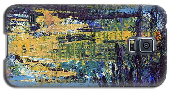 Galaxy S5 Case featuring the painting Adventure IIi by Cathy Beharriell