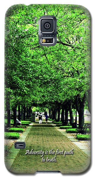 Adversity Quote Galaxy S5 Case