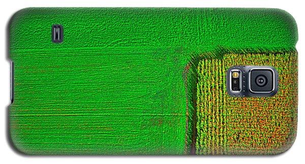 Aerial Farm Mchenry Il  Galaxy S5 Case