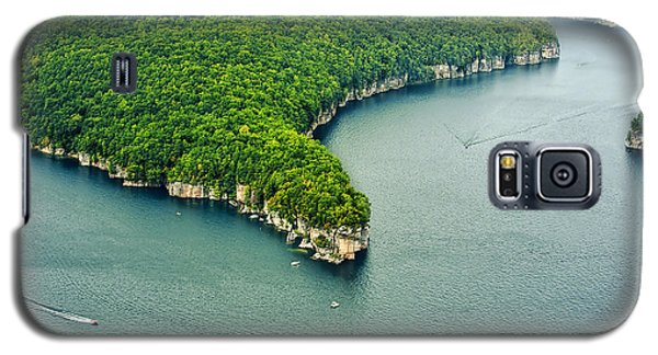 Aerial Image Of  Long Point Cliff Galaxy S5 Case