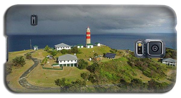 Aerial View Of Cape Moreton Lighthouse Precinct Galaxy S5 Case