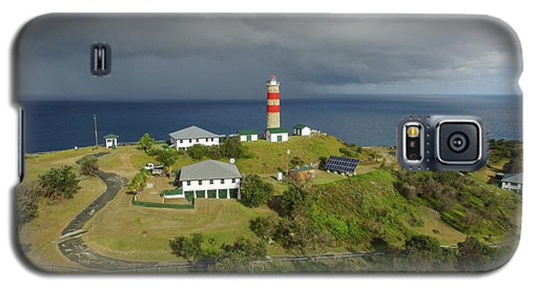 Aerial View Of Cape Moreton Lighthouse Precinct Galaxy S5 Case
