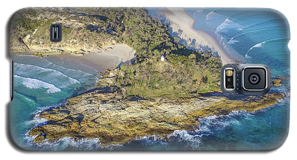 Aerial View Of North Point, Moreton Island Galaxy S5 Case