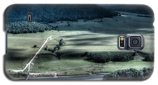 Aerial View Of Rolling Russian Hills Galaxy S5 Case