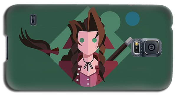 Galaxy S5 Case featuring the digital art Aeris by Michael Myers