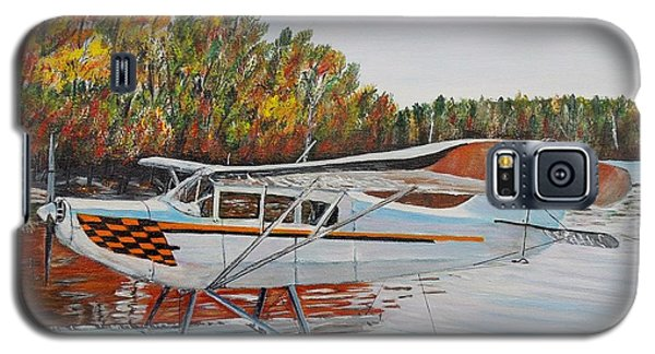Galaxy S5 Case featuring the painting Aeronca Super Chief 0290 by Marilyn  McNish