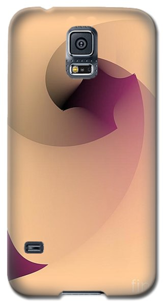 Galaxy S5 Case featuring the digital art Affect by Leo Symon
