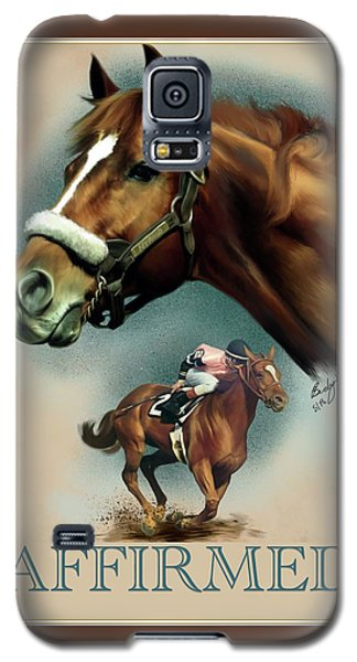 Affirmed With Name Decor Galaxy S5 Case