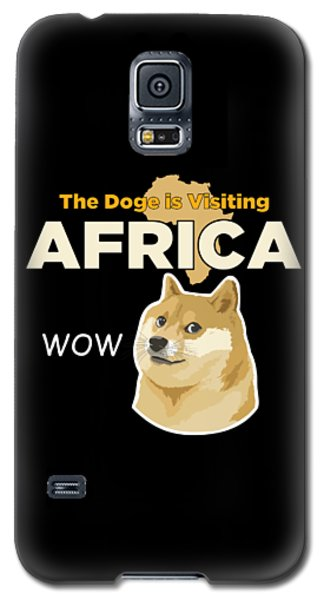 Africa Doge Galaxy S5 Case by Michael Jordan