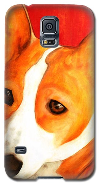 African Basenji - Kia Galaxy S5 Case by Laura  Grisham