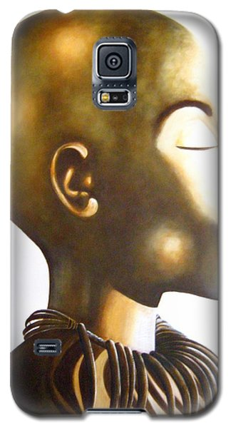 African Elegance Sepia - Original Artwork Galaxy S5 Case