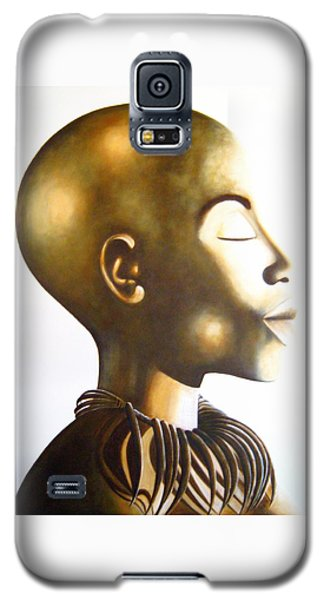 African Elegance Sepia - Original Artwork Galaxy S5 Case