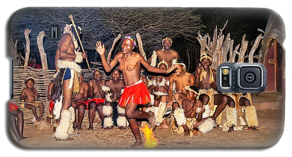 Galaxy S5 Case featuring the photograph African Fire Dance by Rick Bragan