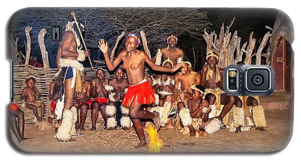 African Fire Dance Galaxy S5 Case by Rick Bragan