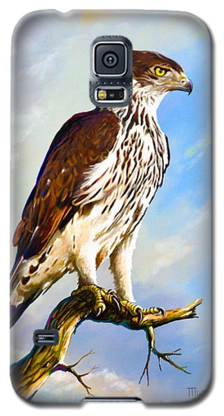 African Hawk Eagle Galaxy S5 Case