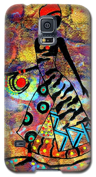 African Healer New Color Galaxy S5 Case