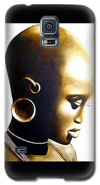 African Lady - Original Artwork Galaxy S5 Case