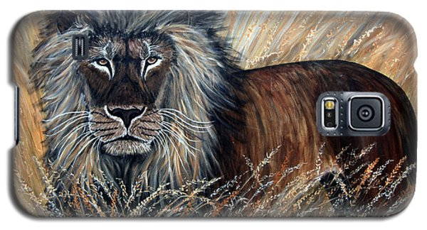 African Lion 2 Galaxy S5 Case by Nick Gustafson