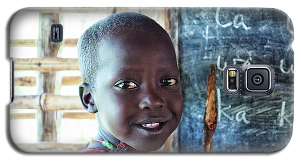 Maasai School Child Galaxy S5 Case