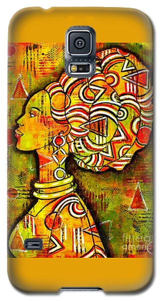 African Queen Galaxy S5 Case by Julie Hoyle