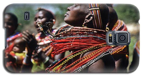 African Rhythm Galaxy S5 Case