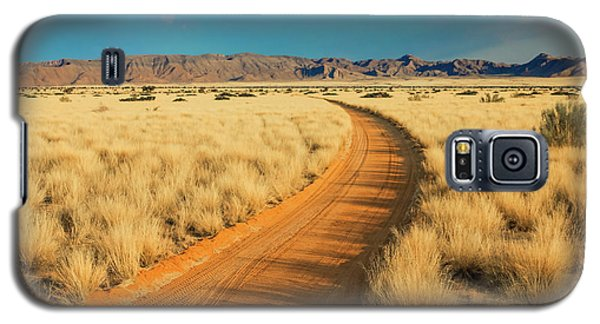 African Sand Road Galaxy S5 Case