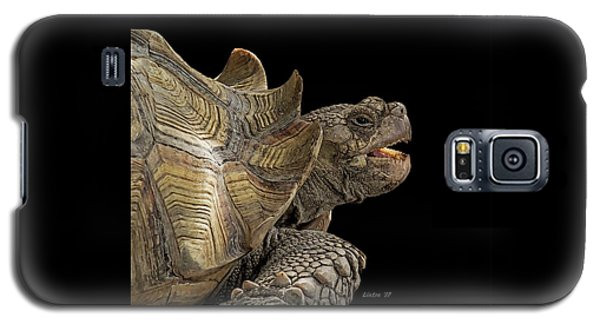 African Spurred Tortoise Galaxy S5 Case