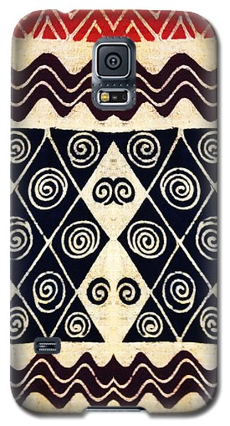 African Tribal Textile Design Galaxy S5 Case