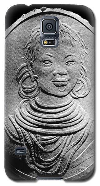 African Turkana Woman Galaxy S5 Case