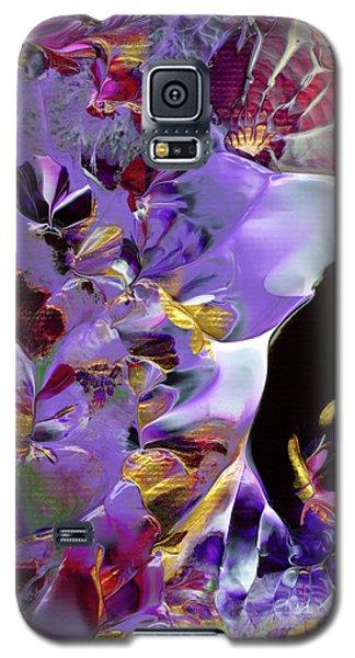 African Violet Awake #2 Galaxy S5 Case