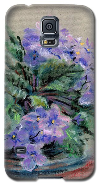 African Violet Galaxy S5 Case by Donald Maier