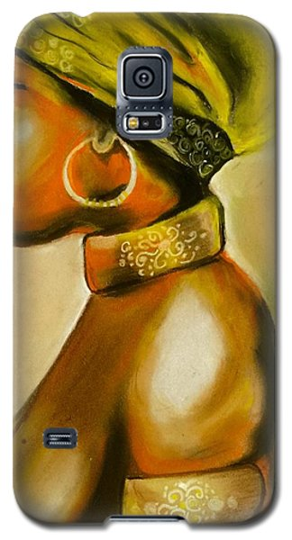African Woman Galaxy S5 Case