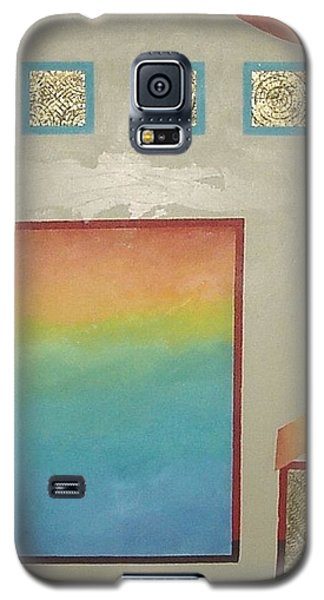 Galaxy S5 Case featuring the painting After The Rain by Bernard Goodman