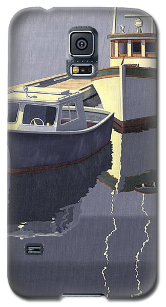 Galaxy S5 Case featuring the painting After The Rain by Gary Giacomelli