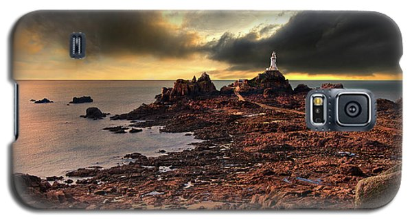 after the storm at La Corbiere Galaxy S5 Case