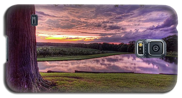 Galaxy S5 Case featuring the photograph After The Storm At Mapleside Farms by Brent Durken