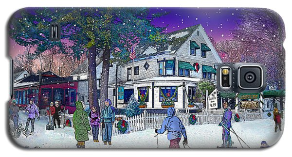 After The Storm At Woodstock Inn Galaxy S5 Case by Nancy Griswold