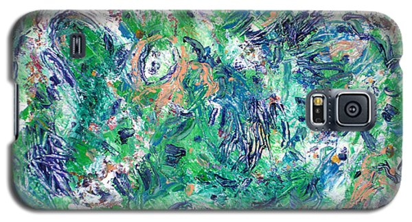 Galaxy S5 Case featuring the painting After The Storm by Lynda Lehmann
