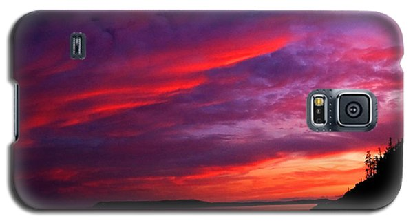 Galaxy S5 Case featuring the photograph After The Storm Sunset by Alana Ranney